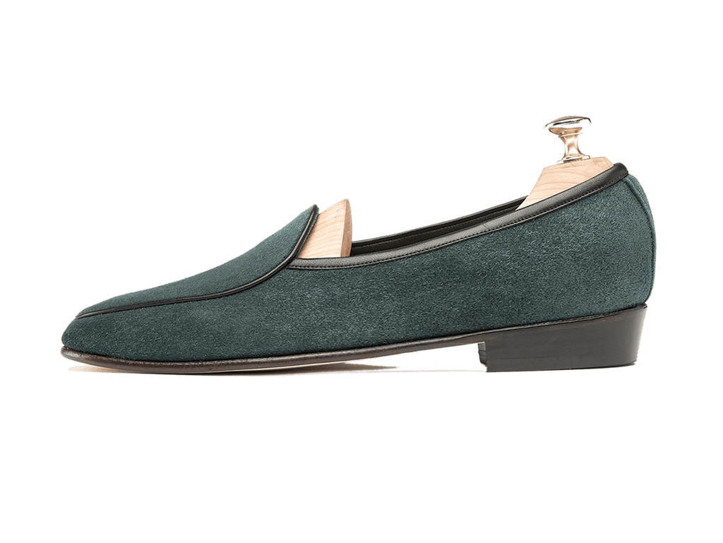 Sagan Classic Plain in Dartmouth Green Suede (3603709100109)