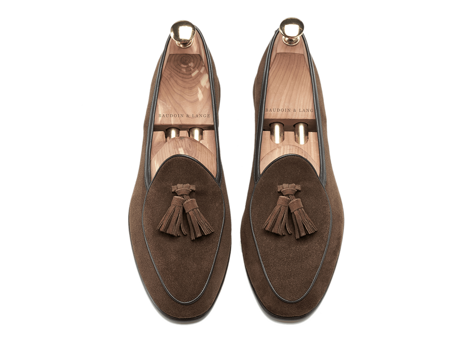 Sagan Classic Tassel in Oak Brown Suede