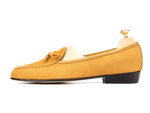 Sagan Classic String in Camel Yellow Asteria Suede
