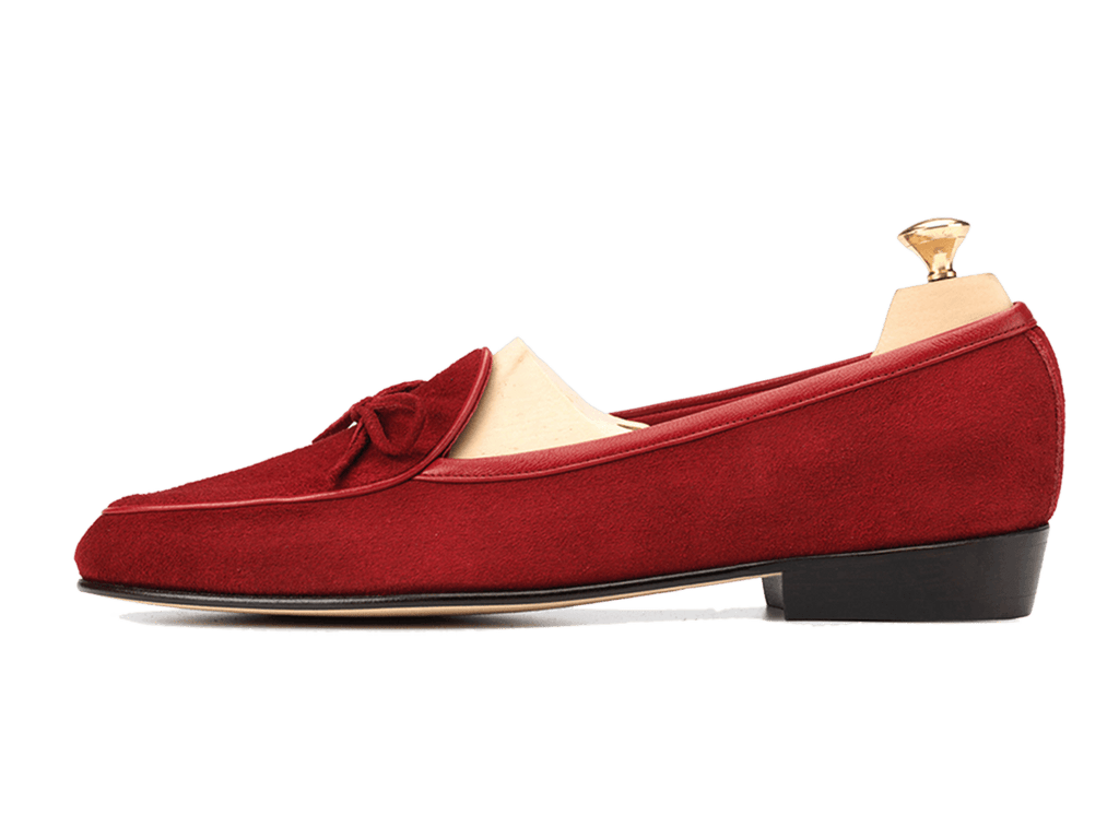 Sagan Classic String in Chaperon Red Asteria Suede (3603740491853)