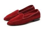Sagan Classic Plain in Chaperon Red Asteria Suede