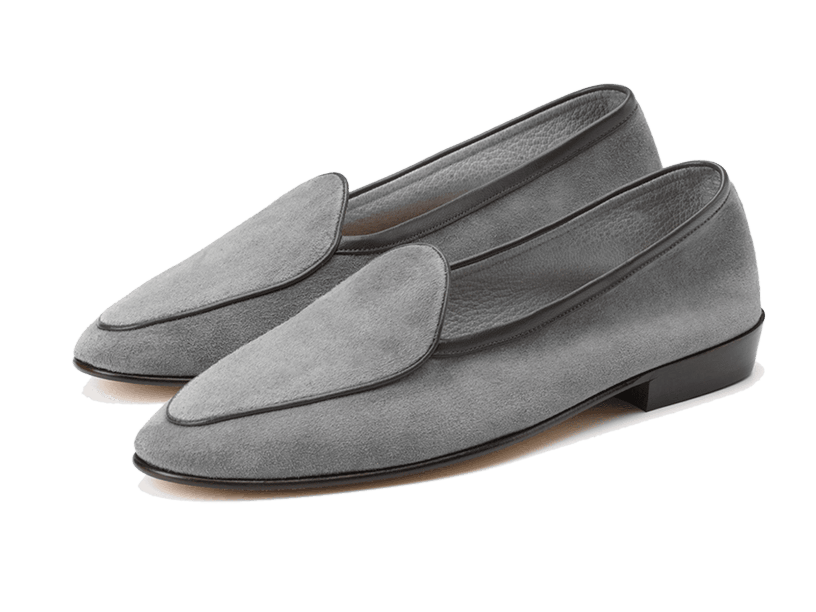 Sagan Classic Plain in Moon Grey Suede