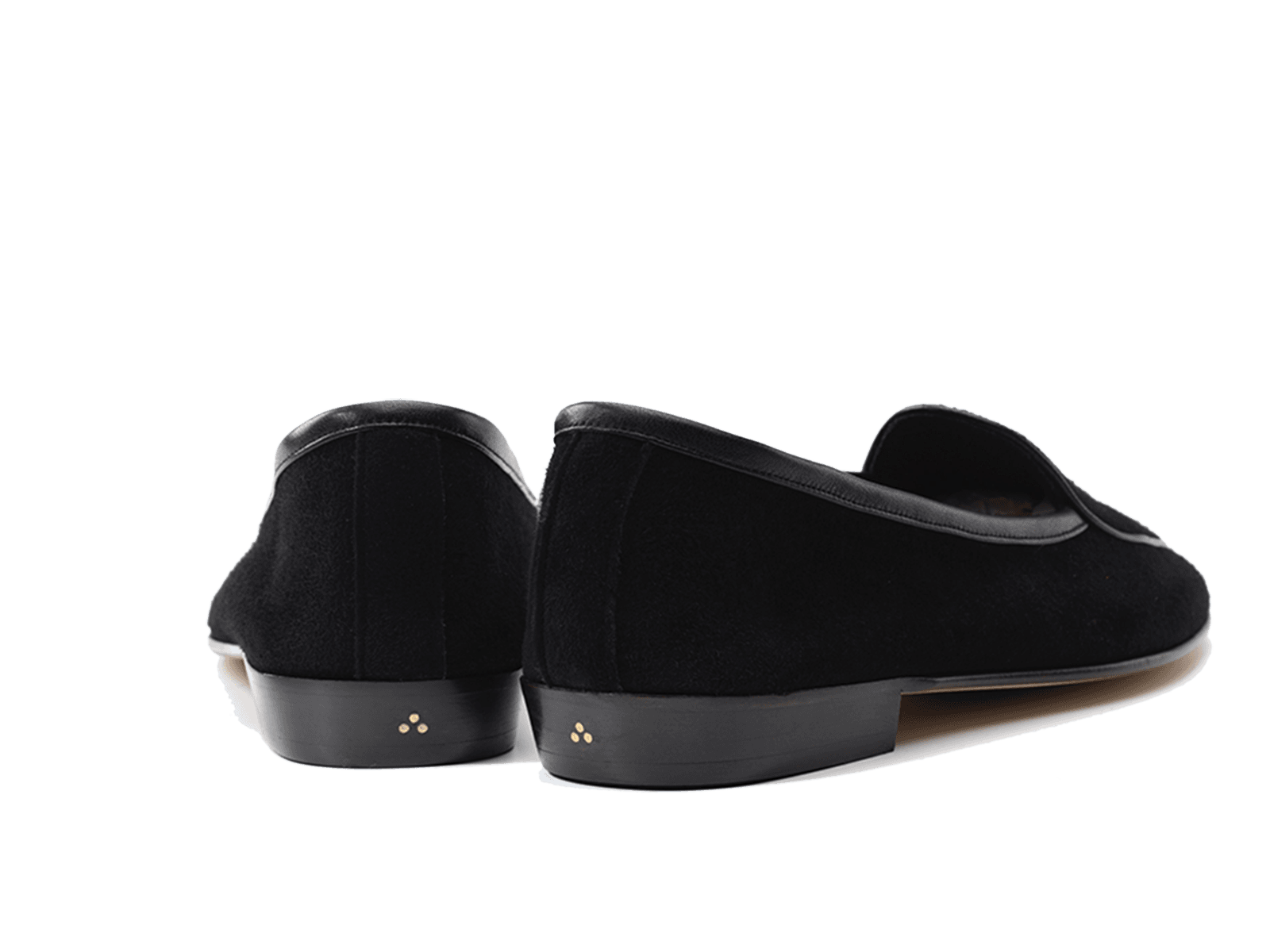 Sagan Classic Plain in Obsidian Black Asteria Suede