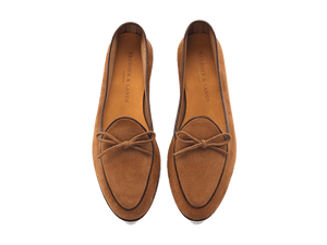 Sagan Classic String in Tobacco Asteria Suede
