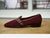 Sagan Classic Buckle in Burgundy Asteria Suede and Marmo Calf (4835383115853)