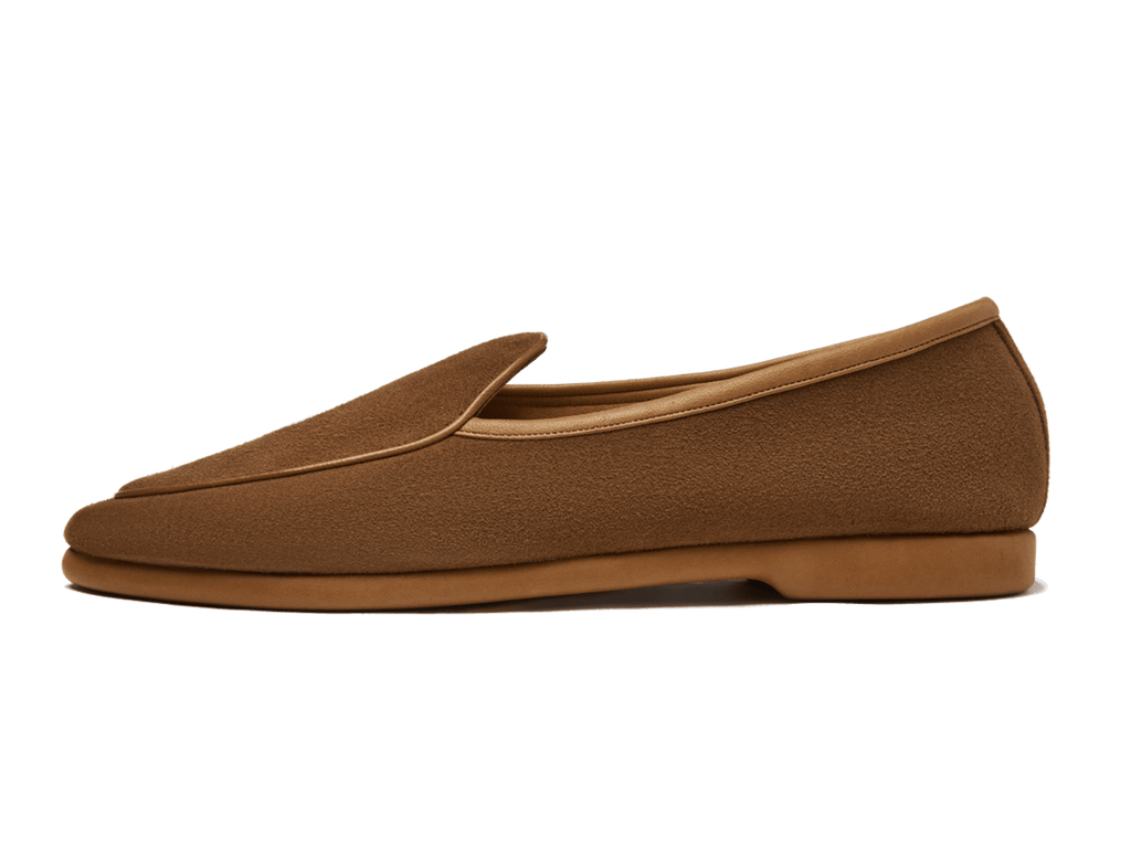 Sagan Lune in Tan Asteria Suede