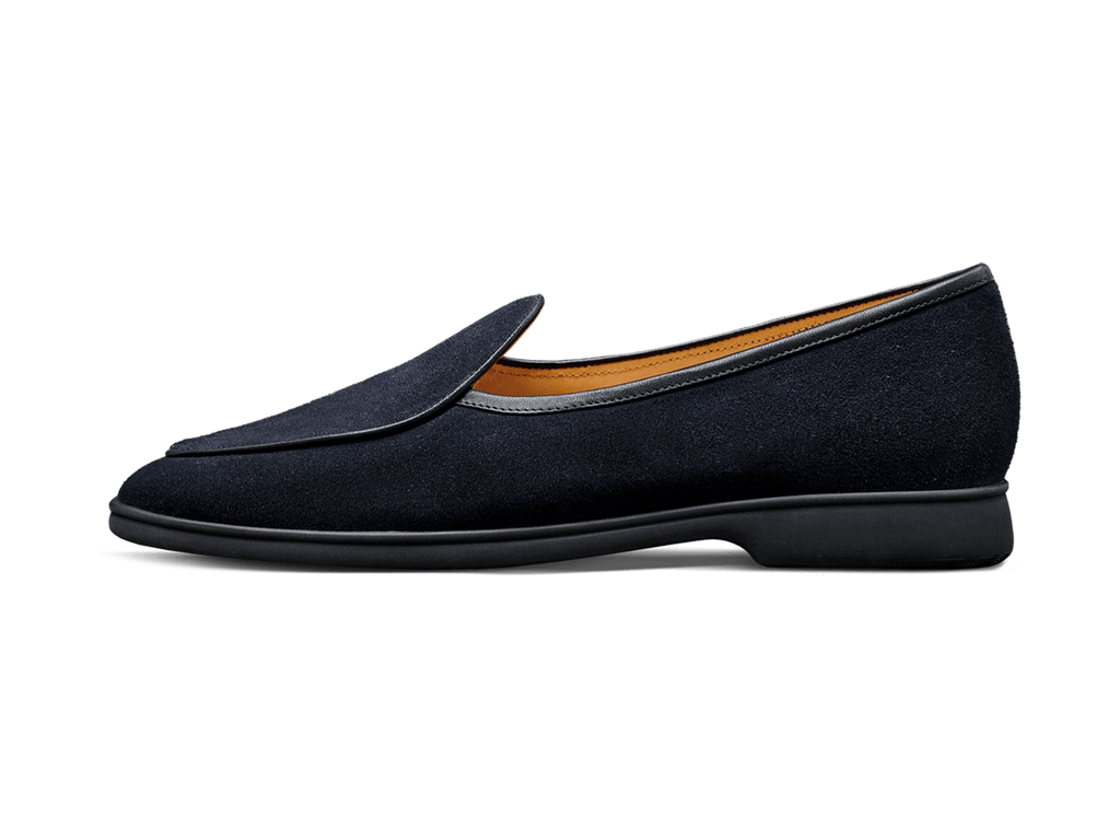 Sagan Stride in Midnight Navy Suede