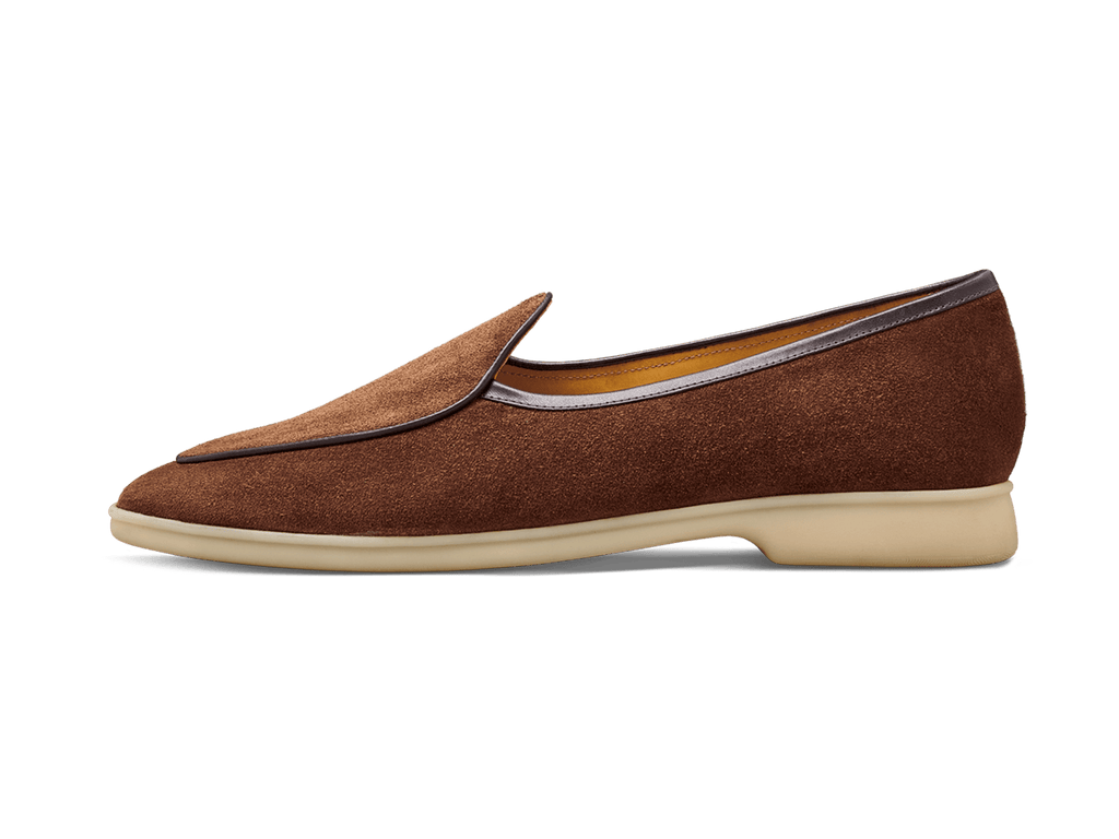 Sagan Stride in Snuff Brown Natural Sole