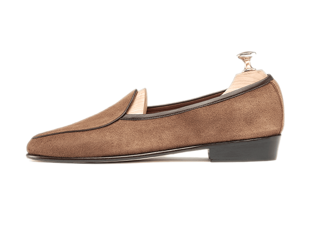 Sagan Classic Plain in Tobacco Suede (3603713851469)