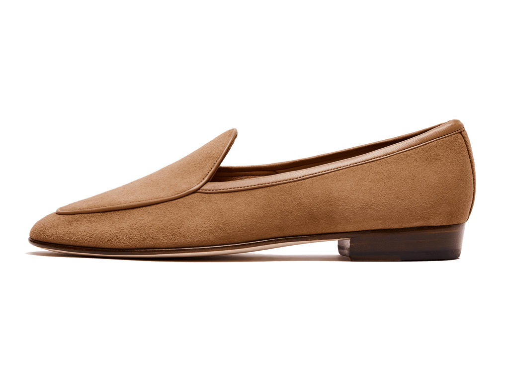 Sagan Classic Plain in Alezan Asteria Suede (4629911240781)