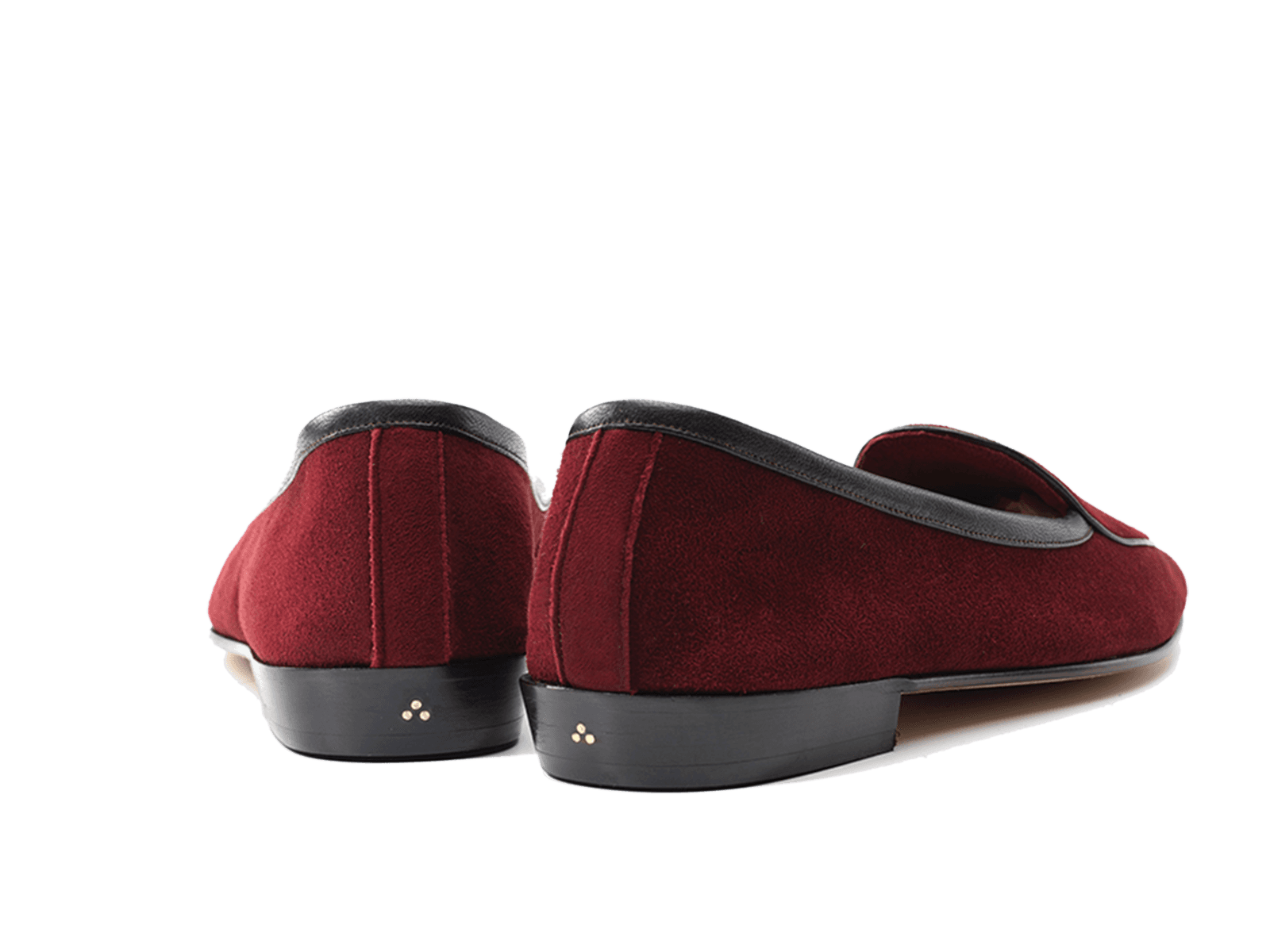 Sagan Classic Plain in Vougeot Burgundy Suede