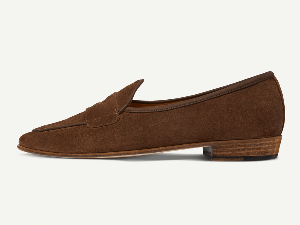Sagan Classic Ginkgo in Walnut Glove Suede (4750463828045)