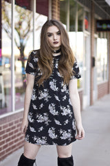 SMOOTH TALKING FLORAL DRESS