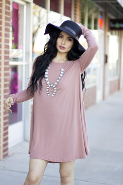 MADE YOU BLUSH SWING DRESS