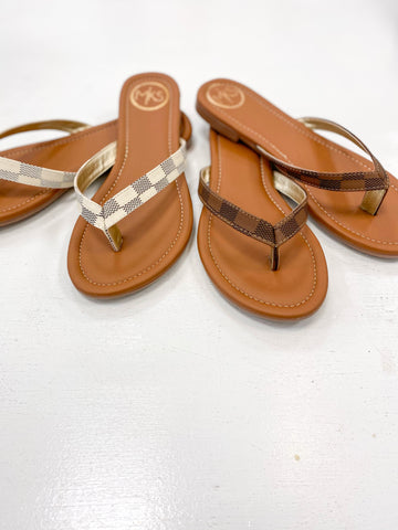 Brown Miami Sandals
