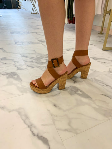 Brown Jillian Heels