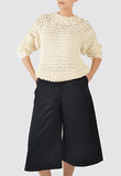 Jumper Sweater Knitted Woman