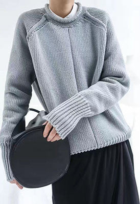 Long Sleeved women Knitted Jumper