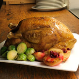 Roasted French Capon Chicken with Foie Gras and Porcini Mushroom Stuffing - 3kg (ONLY 12 BIRDS AVAILABLE!)