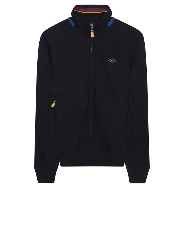 Shark Fit Full Zip Blouson in Blue