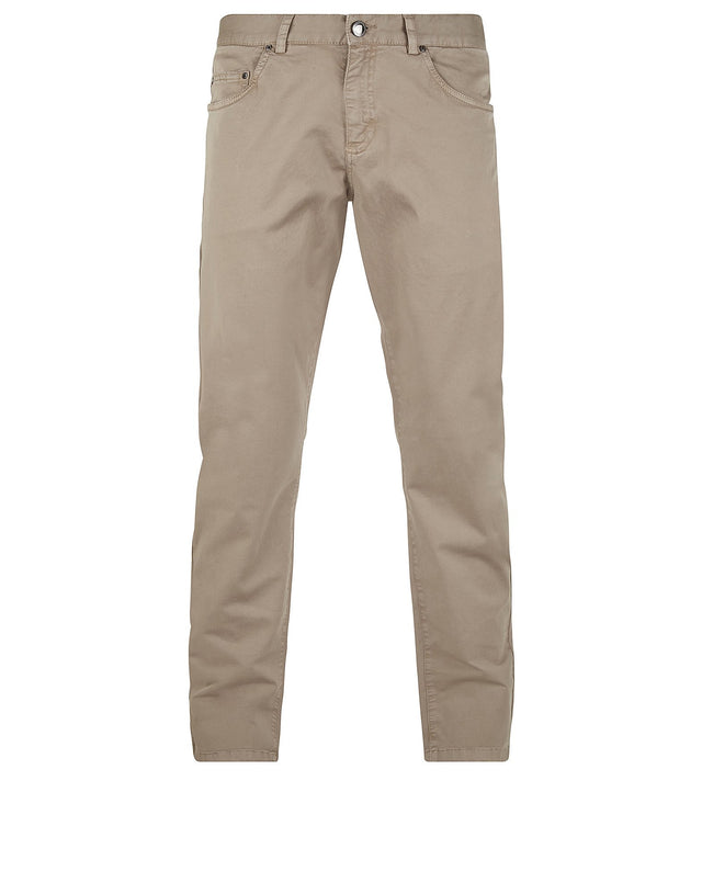 Regular Fit Chinos in Beige