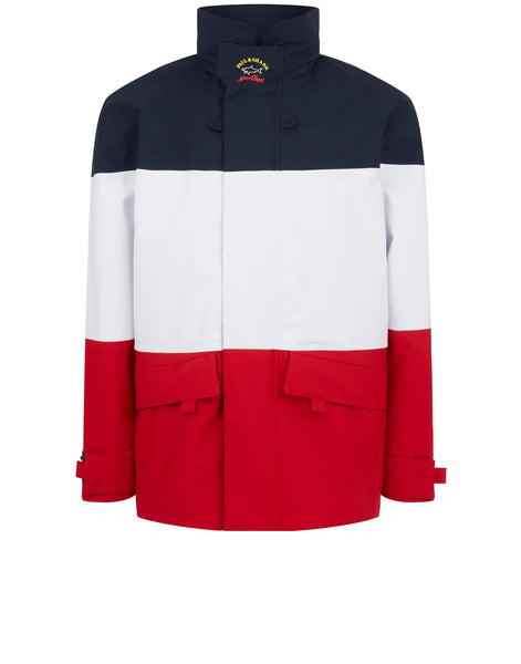 Typhoon Shark Trust Jacket in Navy/White/Red