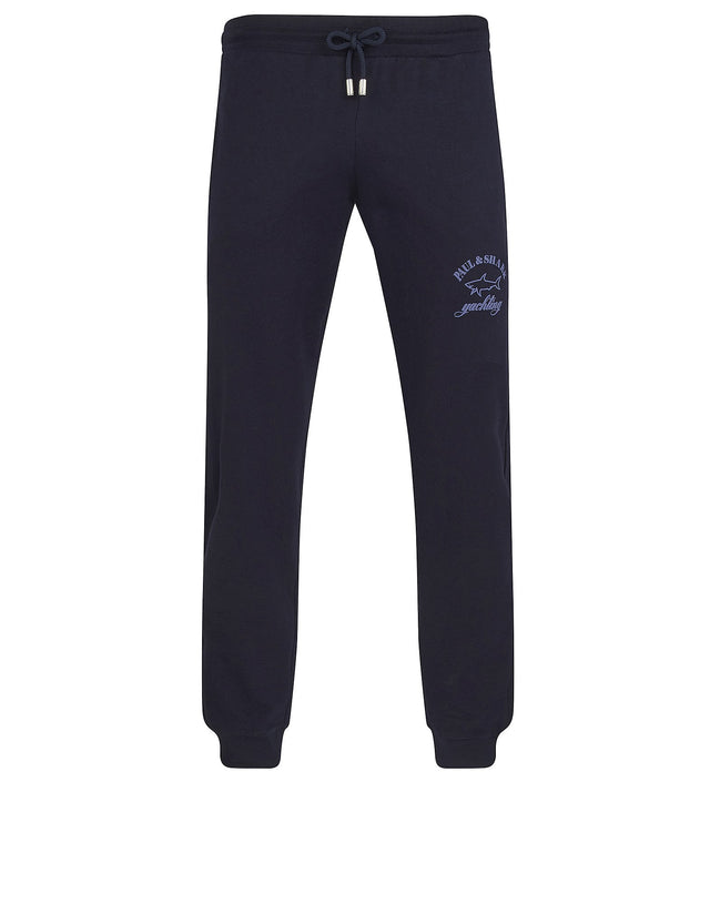 Shark Fit Cuffed Pants in Navy