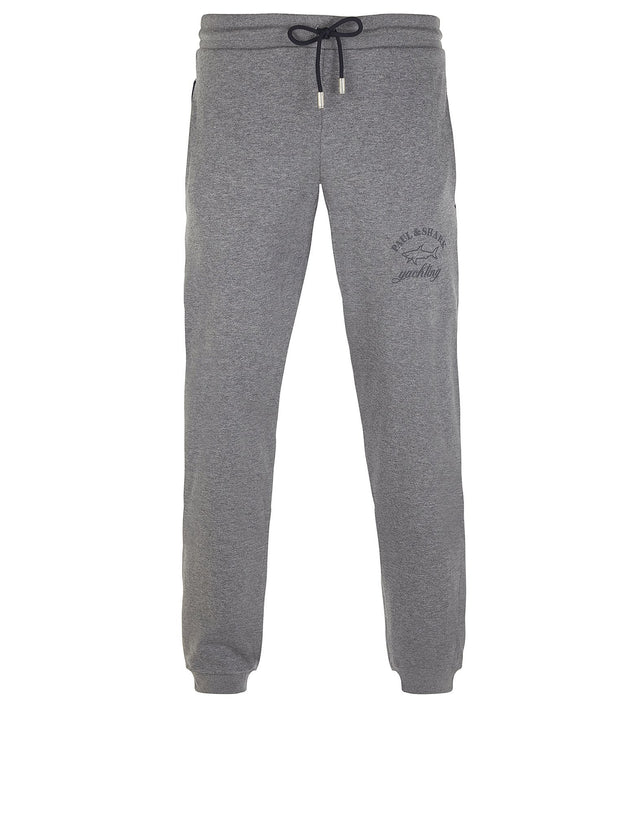 Shark Fit Cuffed Pants in Grey