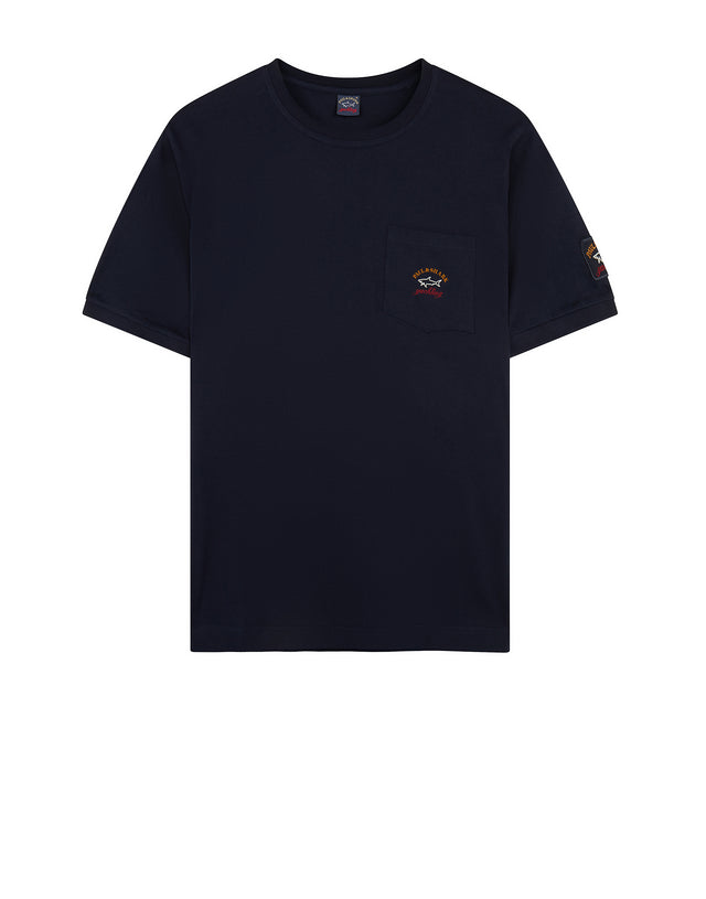 Short Sleeve Pocket T-Shirt in Navy