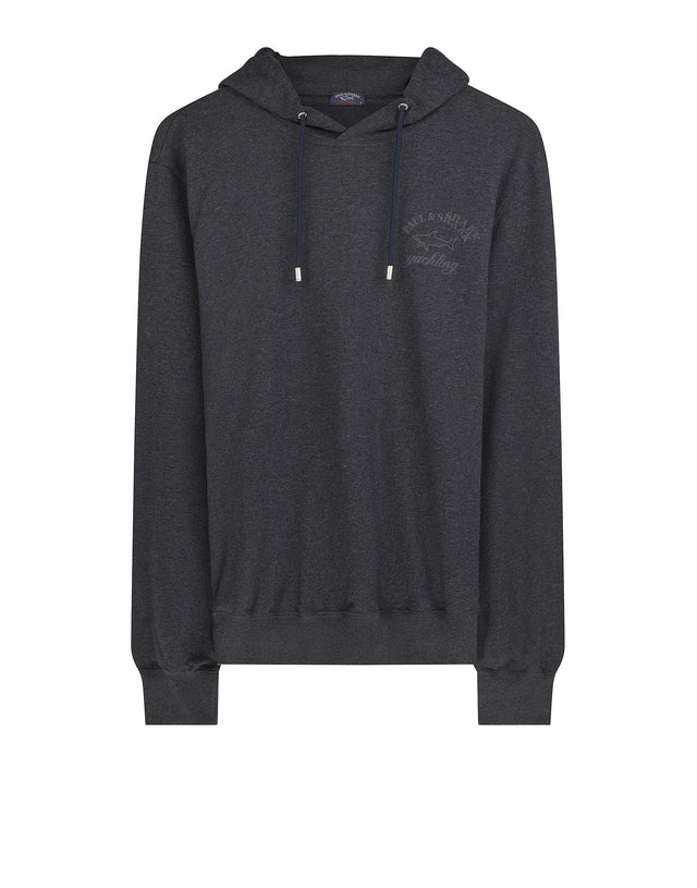 Paul & Shark Crew Neck Sweatshirt in Charcoal