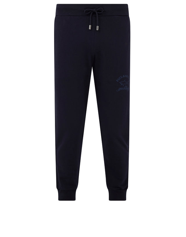 Logo Print Sweatpant in Blue