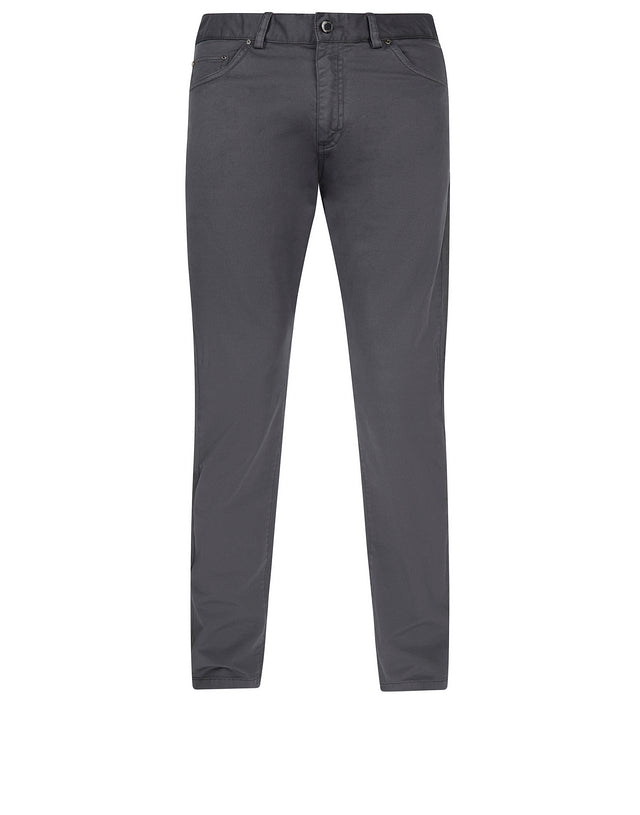 Regular Fit Chinos in Charcoal
