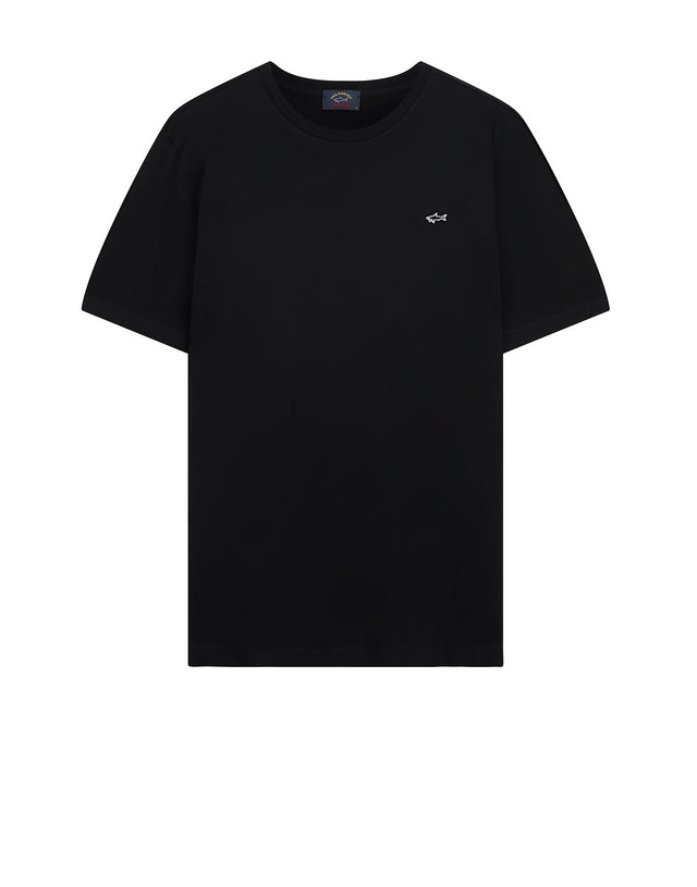 Heritage Shark Short Sleeve T-Shirt in Black