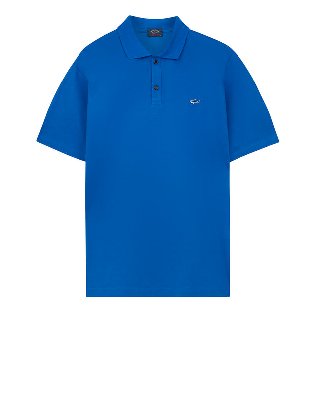 Heritage Shark Polo Shirt in Blue