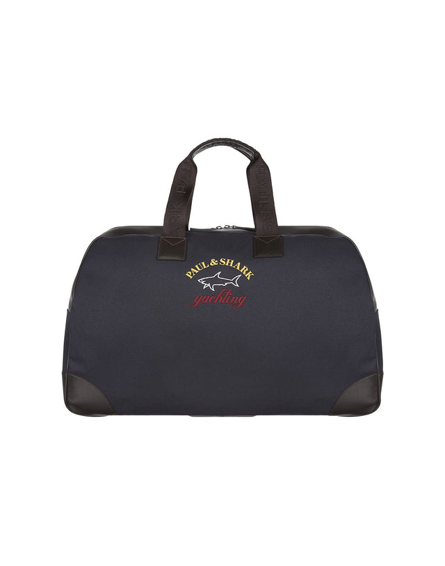 Logo Travel Bag in Blue
