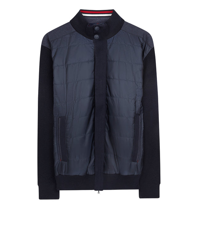 Admiral's Collection Knitted Blouson in Blue
