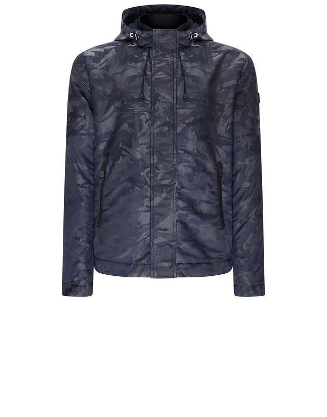 Sharkflage Nylon Jacket in Blue