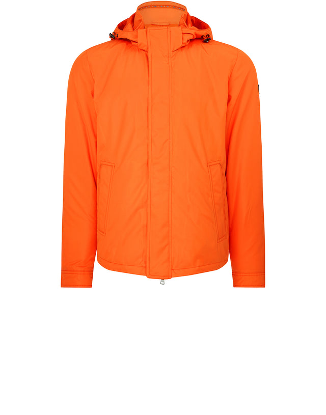Yachting Hooded Jacket in Orange