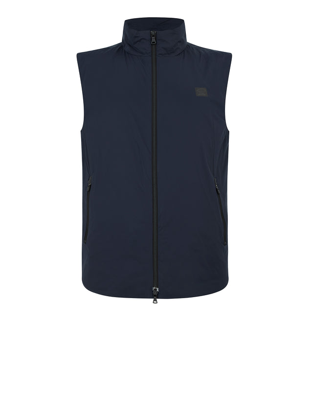 Yachting Patch Gilet in Blue