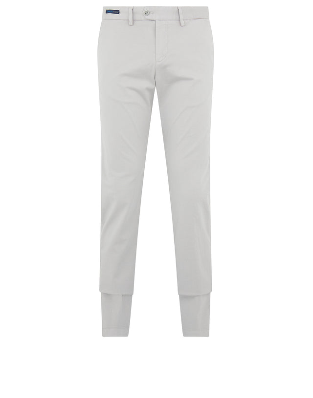 Comfort Touch Stretch Chino in Light Grey