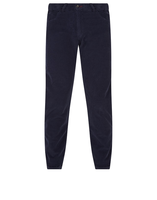 Corduroy Trouser in Blue