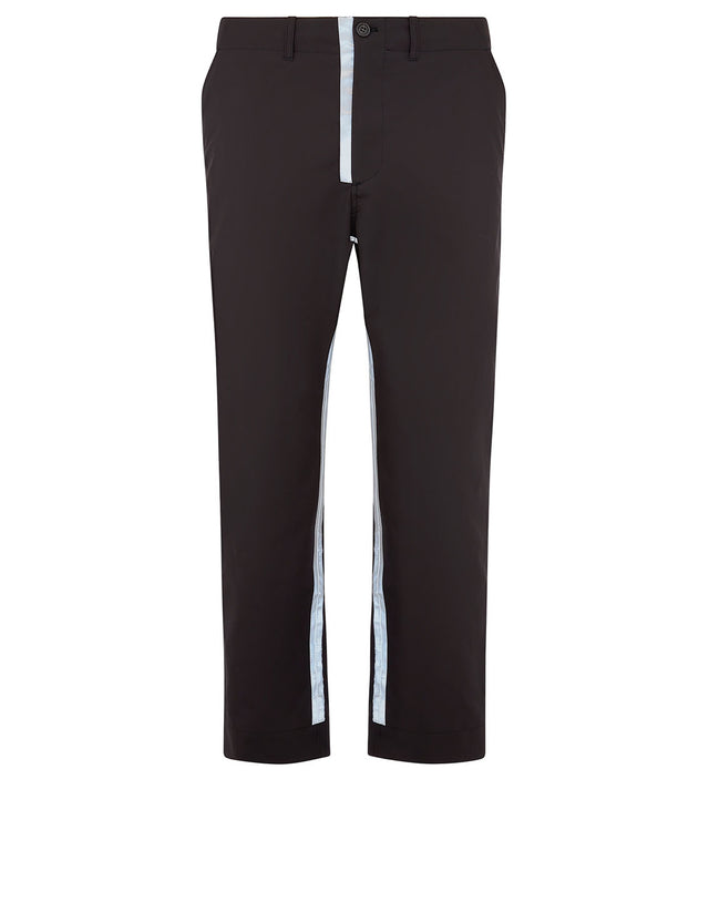 Paul & Shark x Nick Wooster Reflective Stripe Pants in Dark Brown