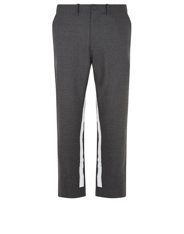 Paul & Shark x Nick Wooster Reflective Stripe Pants in Grey