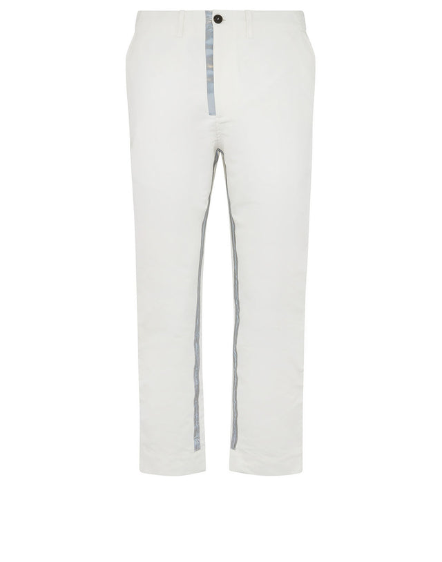 Paul & Shark x Nick Wooster Reflective Stripe Pants in White