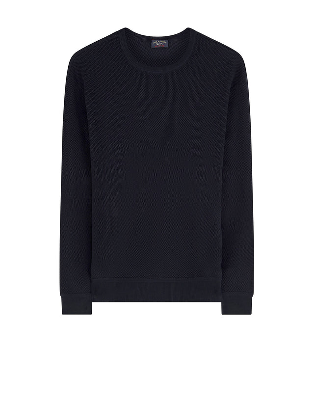 Crewneck sweatshirt in Navy