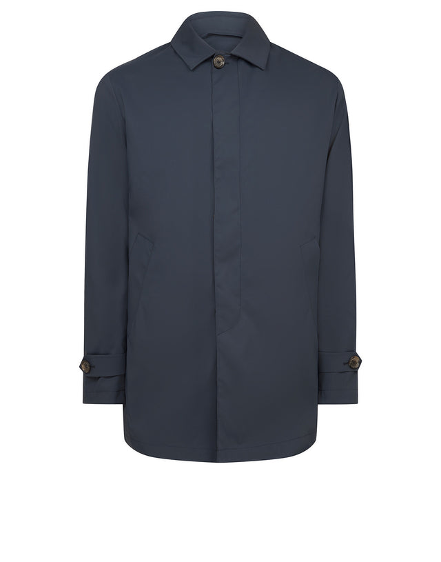 Weather-resistant performance coat in Navy