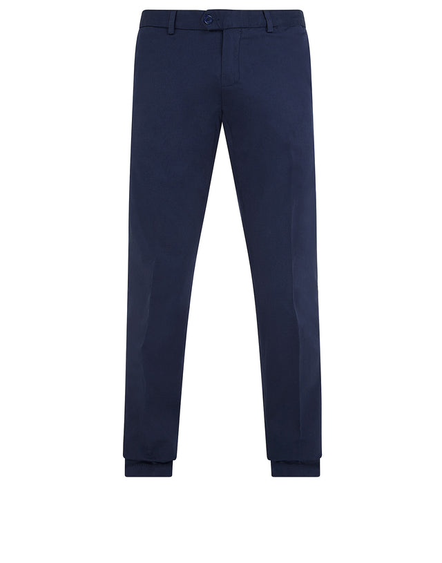 Shark Fit Chino Trousers in Cadet Blue
