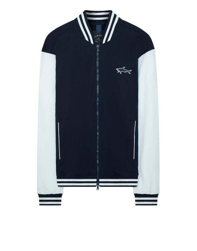 College Jacket in Navy