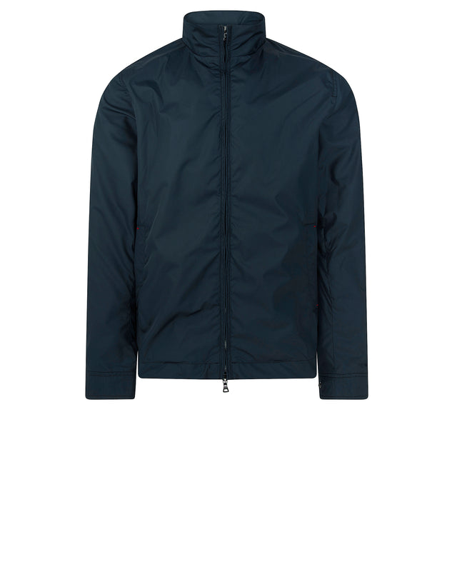 Short Nylon Jacket in Blue