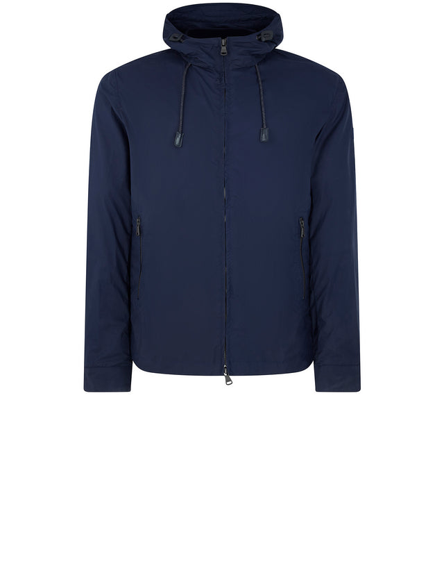 Sharkhub Spinnaker Hooded Jacket in Blue